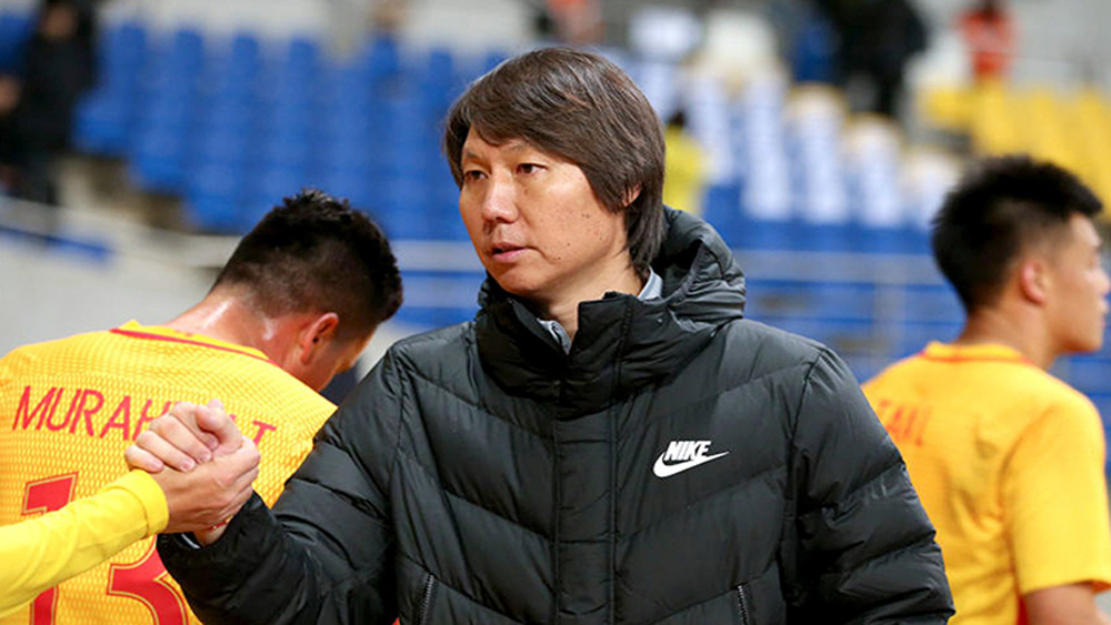 Trung Quốc đá vòng loại World Cup ở Thái Lan